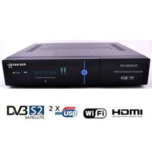 starsat sr 2000 hd ace - terminal num�rique hd - wifi - usb - hdmi + cordon hdmi offert