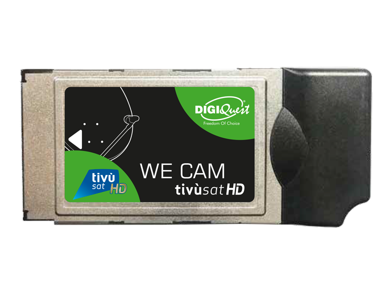 MODULE WE CAM TIVUSAT HD ET CARTE TIVUSAT HD