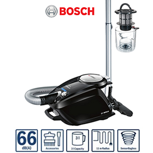 aspirateur tra neau sans sac 700w bosch bgs5sil66c relaxx x prosilence66. Black Bedroom Furniture Sets. Home Design Ideas