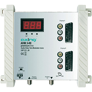 Modulateur Axing AVM 3-00 A/V TWIN UHF