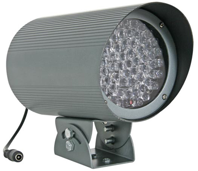 Projecteur Infrarouge 60 LED - 12V - 100m