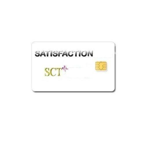 Abonnement SCT Satisfaction 8 chaîne 12 mois Viaccess via Hotbird 13°E/ Atlantic Bird 5°W
