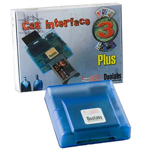 Programmateur de carte a puce et de Modules PCMCIA -  CAS INTERFACE 3 PLUS