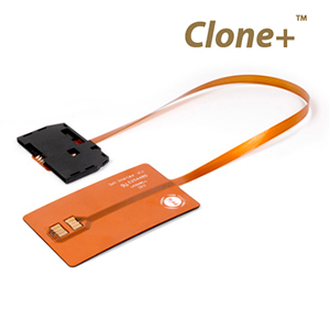 Clone+ Software interface