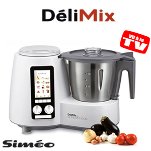 Robot cuiseur simeo delimix qc360c robot multifonction cuiseur toulouse - Robot cuiseur multifonction delimix ...