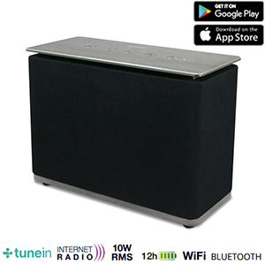 Enceinte Multiroom Home Play 10 W RMS - WiFi - Bluetooth - USB - Compatible Smartphone - Metronic