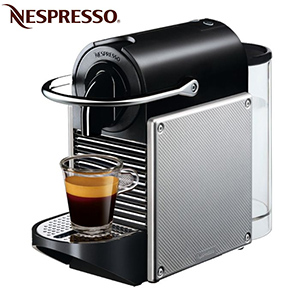 nespresso magimix pixie m110 gris aluminium. Black Bedroom Furniture Sets. Home Design Ideas