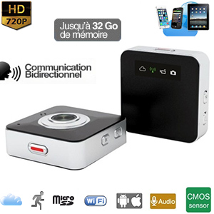 mini cam ra dvr autonome hd 720p wifi webcam microsd jusqu 32 go. Black Bedroom Furniture Sets. Home Design Ideas