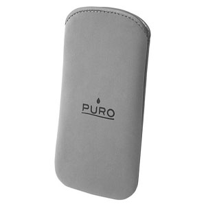 Etui Nubuck PURO Gris pour IPhone 3G - iPod Touch - iPod Classic