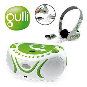 Radio Cd Mp3 Casque Audio Gulli Metronic