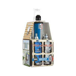 kit de scellement chimique fix o bleu 4 fixations multi. Black Bedroom Furniture Sets. Home Design Ideas