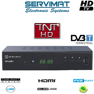 servimat tnt65hdu adaptateur tnt hd pvr ready usb hdmi cordon hdmi offert. Black Bedroom Furniture Sets. Home Design Ideas