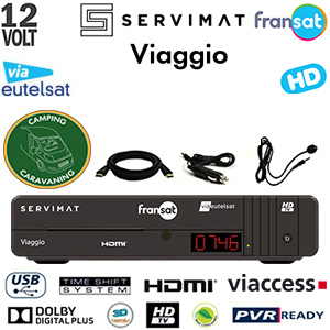 servimat viaggio hd pvr terminal num rique fransat hd pour camping car avec carte viaccess. Black Bedroom Furniture Sets. Home Design Ideas