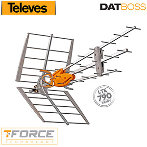 Antenne DAT BOSS Televes - UHF (C21-60) - TNT - Gain 45 dB