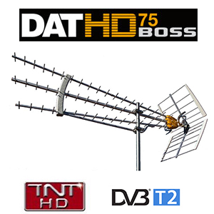 antenne dat hd 75 boss televes uhf tnt gain 19 db. Black Bedroom Furniture Sets. Home Design Ideas