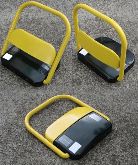 arceau r servation parking nergie solaire avec 2 t l commandes et batterie lithium. Black Bedroom Furniture Sets. Home Design Ideas