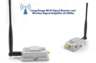 amplificateur de signal wifi booster longue port e 20db. Black Bedroom Furniture Sets. Home Design Ideas