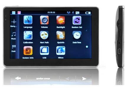navigateur gps cran tactile 5 avec cam ra de recul sans fil. Black Bedroom Furniture Sets. Home Design Ideas
