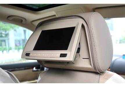 paire d appuie t te de voiture avec lecteur dvd cran lcd 7 transmetteur fm station de jeux. Black Bedroom Furniture Sets. Home Design Ideas