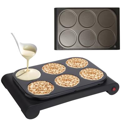 set mini wok cr pi re et grill pour 6 personnes 1000 watts. Black Bedroom Furniture Sets. Home Design Ideas