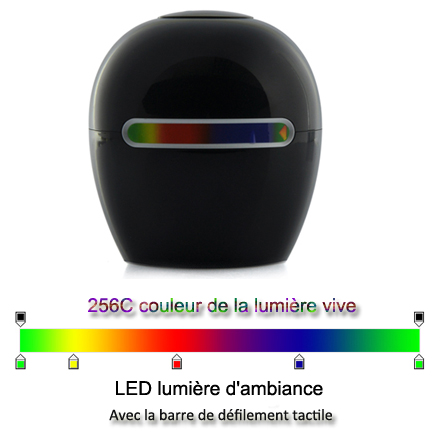mini lampe led multicolores 256 couleurs lumi re d ambiance. Black Bedroom Furniture Sets. Home Design Ideas