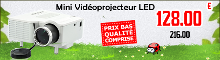 mini video-projecteur