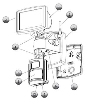 branchement d un halog u00e8ne avec d u00e9tection un interrupteur