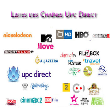 chaines UPC Direct