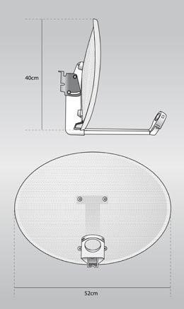 parabole diametre 40
