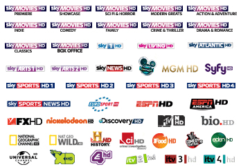 Skybox tv channels