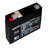 Batteries rechargeable - 6V 1.3Ah - plomb - (95x50x23mm)