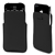 Etui pocket slim en cuir - noir - pour iPhone 4