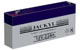 Batterie rechargeable - 12V 2.2Ah - plomb AGM etanche - (178x34x60mm)